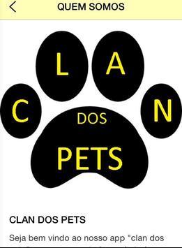 Clan dos Pets apk screenshot