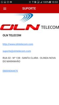 OLN TELECOM apk screenshot