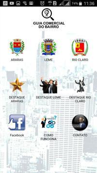 Guia Comercial do Bairro poster