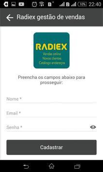 Radiex Gestão Empresarial apk screenshot