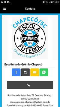 Escolinha Grêmio Chapecó screenshot 4