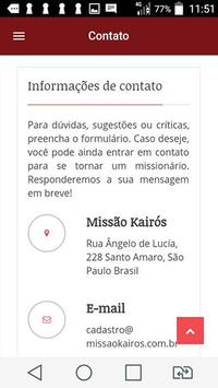 Missão Kairós apk screenshot