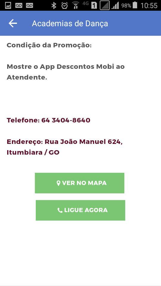 Itumbiara Descontos Mobi poster
