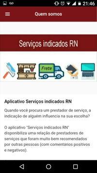 Serviços indicados RN screenshot 6