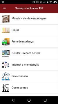 Serviços indicados RN screenshot 1