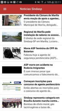Sindasp - Aplicativo do ASP screenshot 1