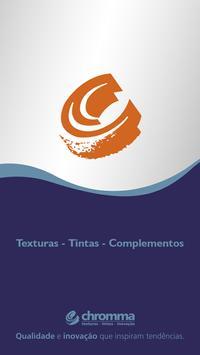 Chromma Texturas e Tintas poster
