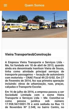 Vieira Transportes screenshot 5