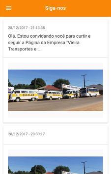 Vieira Transportes screenshot 6