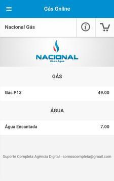 Nacional Gás - Paranaguá screenshot 2