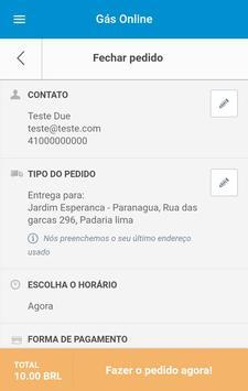 Nacional Gás - Paranaguá screenshot 3