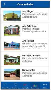 Paróquia Quedas do Iguaçu screenshot 1