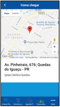 Paróquia Quedas do Iguaçu screenshot 3