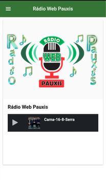 Rádio Web Pauxis poster