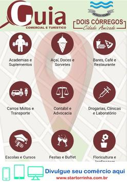 Guia Comercial e Turístico de Dois Córregos poster