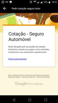 Seguro de carro - Cotação Auto e Vida screenshot 4