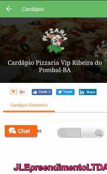 Pizzaria Vip الملصق