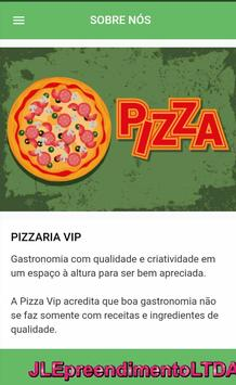 Pizzaria Vip تصوير الشاشة 2