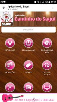 Aplicativo do Sagui screenshot 1