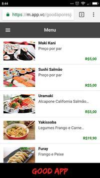 Good App Restaurante Japonês screenshot 4