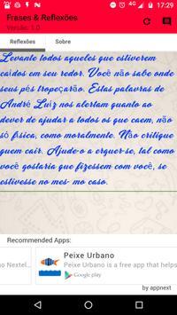 Frases e Reflexões apk screenshot