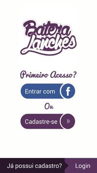 Batera Lanches - Delivery poster