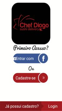 Chef Diogo - Sushi Delivery poster