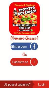 Pizzaria Encontro dos Amigos poster