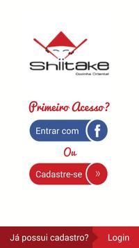 Shiitake Cozinha Oriental poster