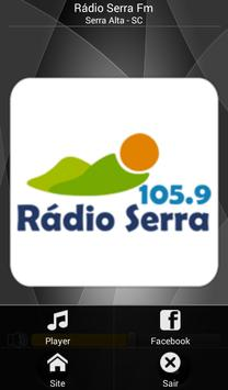 Serra FM poster