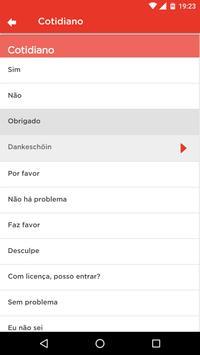 Aprenda Pomerano apk screenshot