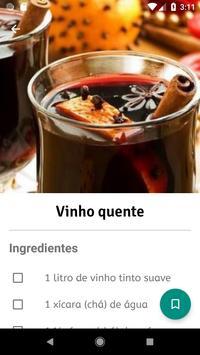 Receitas de Festa Junina em Português screenshot 1