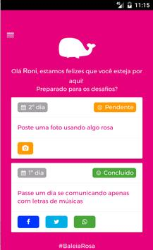 Baleia Rosa - App Oficial apk screenshot