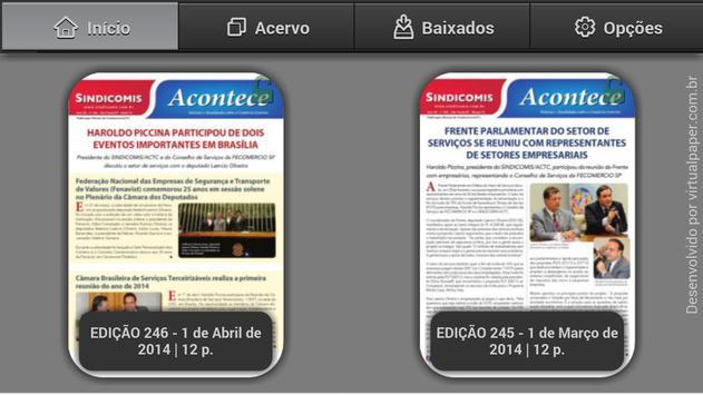 Sindicomis ACTC poster