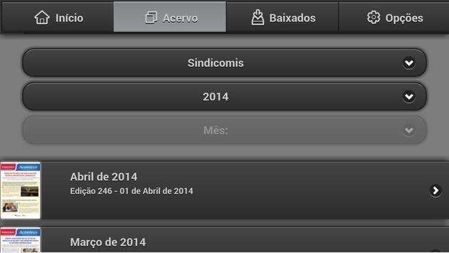 Sindicomis ACTC screenshot 1