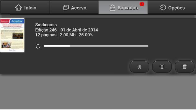 Sindicomis ACTC screenshot 3
