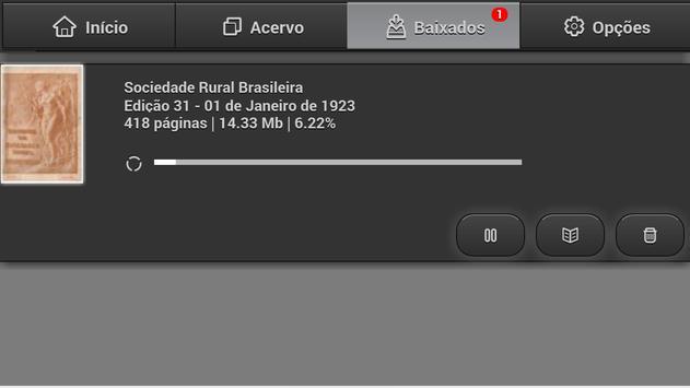 Revista Soc. Rural Brasileira apk screenshot