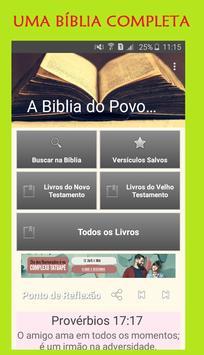 A Bíblia do Povo Cristão poster