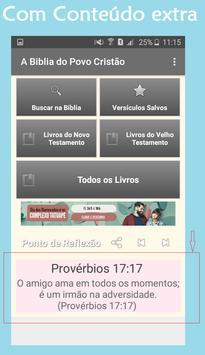 A Bíblia do Povo Cristão apk screenshot