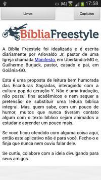 Bíblia Freestyle apk screenshot