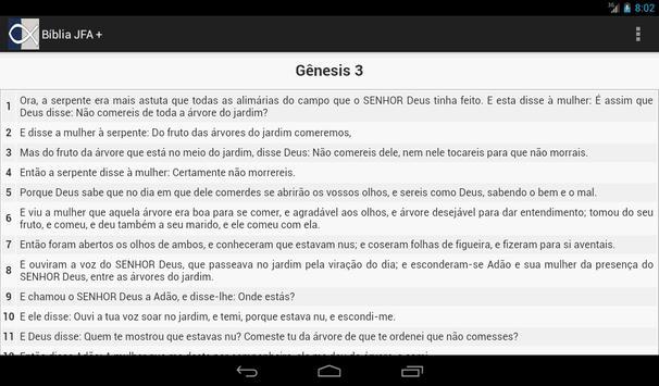 Bíblia JFA + Harpa Cristã apk screenshot