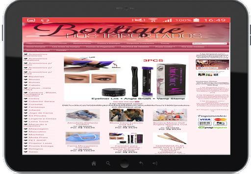 Boutique dos Importados apk imagem de tela
