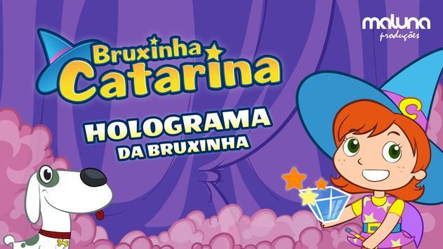 Holograma da Bruxinha Catarina poster
