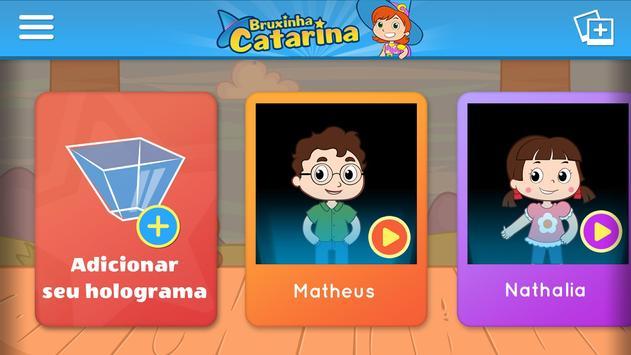 Holograma da Bruxinha Catarina apk screenshot