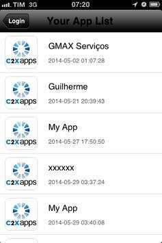 C2XAPPS Preview apk screenshot