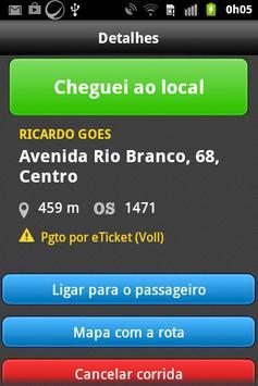 Cuiabá Taxi - Taxista screenshot 3