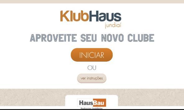 Klubhaus Jundiai Interativo poster