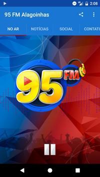95 FM Alagoinhas poster
