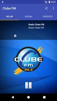 Clube FM Rio Claro poster