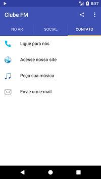 Clube FM Rio Claro apk screenshot